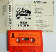 TRAFFIC WELCOME TO CANTEEN MC TAPE CASSETTE VERY RARE