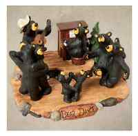 Bearfoots Bear Dance Figurine Jeff Fleming Big Sky Carvers Demdaco