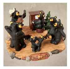 Bearfoots Bear Dance Figurine Jeff Fleming Big Sky Carvers Demdaco