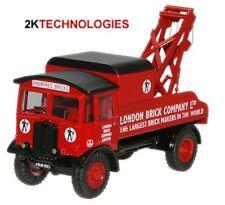 Oxford 76AEC004 AEC Matador Wrecker Truck - London Brick 1/76 Scale New in Case