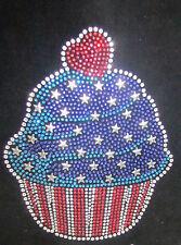 "HOTFIX RHINESTONES HEAT TRANSFER ""4th of July Star Cupcake"""
