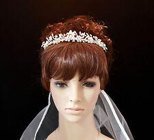 Freshwater Pearl and Swarovski Crystal Bridal Tiara Wedding Headband