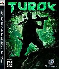 TUROK (Sony PlayStation 3,PS3) Game Complete Free Shipping