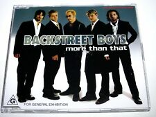 cd-single, Backstreet Boys - More Than That, 5 Tracks, Australia