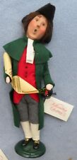 Byers Choice Caroler Colonial Man with Lantern and Music Mint