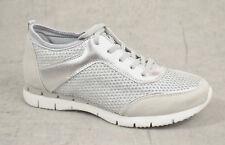 NEU Marco Tozzi Damen Sommer Sneaker Damen Sport Schuhe silber comfort Sneakers