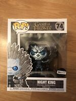 METALLIC NIGHT KING ON THRONE  Funko Pop Game Of Thrones HBO Exclusive In Hand