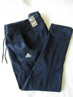 ADIDAS ID Stadium Navy Double-Knit Athletic Pants Mens Navy Size L