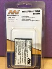 Mi MOBILE / SMART PHONE BATTERY CPB-BF5X 3.7V 1500mAh 5.5Wh ( FOR MOTOROLA )