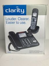 Clarity E814CC Corded/Cordless Combo w/ Answering Machine Phone Amplifies