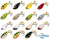 SPINMAD MOTH 2.5g  Blade Bait Ultra Light Lure 25mm Fishing Lures Perch Bass LRF