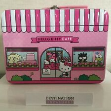 Hello Kitty Cafe Small Lunchbox w 2 Sealed Pkgs Confetti Cake Flavored Popcorn