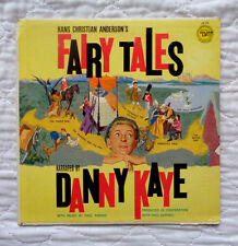 Golden Records Danny Kaye Hans Christian Anderson's Fairy Tales lp, 1962, EXC C!