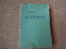 The Hobbit by J.R.R. Tolkien, 2nd Ed, 20th printing, Pre-1966, Green HC