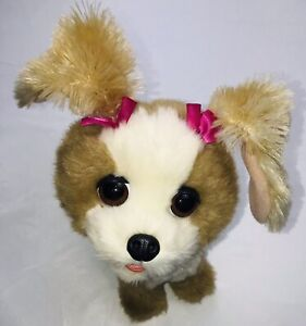 FurReal Friends Bouncy My Happy To See Me Pup Interactive Stuffed Dog Pet A0514