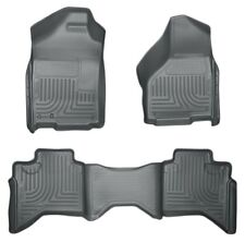 Husky Front & 2nd Seat Floor Liners for 2003-2008 Ram 1500 2500 3500 Quad Cab