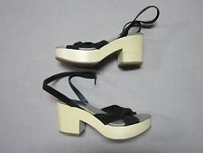 MISS ALBRIGHT ANTHROPOLOGIE WOMENS PETRA CLOG HEELS SHOES SIZE 7 NEW ITALY MADE