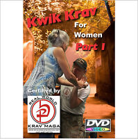 """Complete KRAV MAGA for Women""  2 Disk Set, Self Defense Training Video."