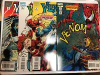 Venom carnage (1995) # 1 2 3 4 (NM)