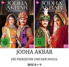 Jodha Akbar - Die Prinzessin und der Mogul - Box 8 + 9, 2x3 DVD NEU + OVP!