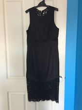 "'BARDOT"" BLACK ROSIE LACE DRESS SIZE 10 - LIKE NEW"