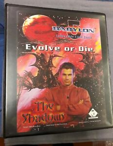 Babylon 5 CCG - Shadows Expansion Set - 203 Cards in Binder inc 100 Rares (A)