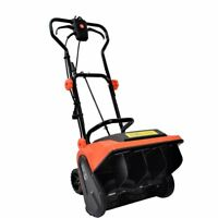 16 inch 9-Amp Electric Powered Snow Thrower Yard Power Shovel w/ Wheels