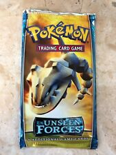 1 X Pokemon Sealed Booster Pack - EX Unseen Forces - Unweighed