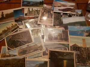 50 Postcard Lot Of Vintage Foriegn Postcards (AAA-2)