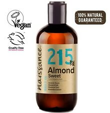 Naissance Sweet Almond Oil 250ml Ideal for Massage, Skincare & Haircare