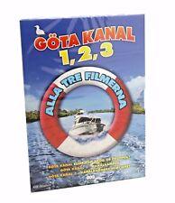 Gota Kanal 1, 2, & 3 Boxset DVD Region 2 NEW SEALED