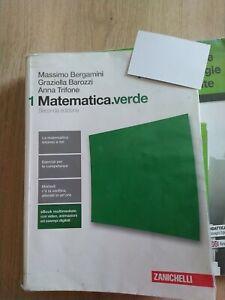 Matematica.verde 1 seconda edizione 9788808137340