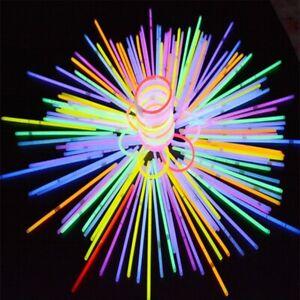 10 pcs Glow Sticks Glasses Party Sticks Glow In The Dark Light Sticks Premium