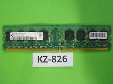 1 GB MEMORIA RAM DDR2 2Rx8 PC2-4200U no-ECC 'Qimonda HYS64T128020HU-3.7-A' #