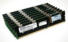 32GB (8 x 4GB)RAM für HP ProLiant DL380 G5 Elpida PC2-5300F 667MHz DDR2 FB-DIMM