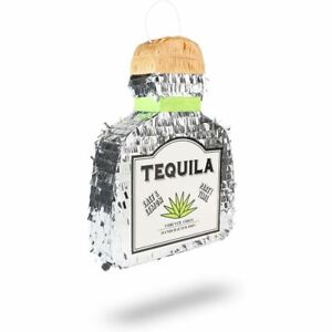 Tequila Bottle Pinata for 21st Birthday Party, Fiesta, Cinco de Mayo