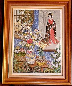 Ancestral Scroll by John Powell 1st Serigraph Ever Made of John Powell's work