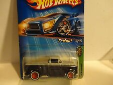 2005 Hot Wheels Treasure Hunt #125 Black '56 Flashsider w/Painted Headlights