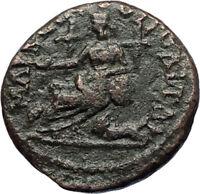 SEPTIMIUS SEVERUS 193AD Marcianopolis Authentic Ancient Roman Coin CYBELE i71230