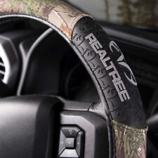 Realtree Camo Steering Wheel Cover, Rubber Molded Grip
