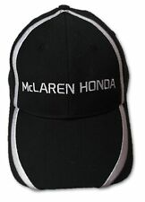 CAP Hat Formula One 1 McLaren Honda F1 Team NEW! J.Button & F.Alonso Black
