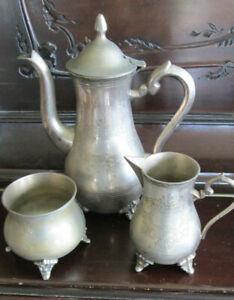 VINTAGE SILVER PLATED COFFEE/TEA SET