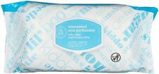 Amazon Elements Baby Wipes, Unscented, 80 Count, Flip-Top Packs