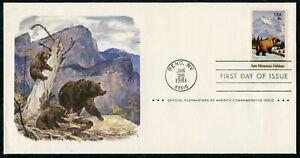1981 - SAVE MOUNTAIN HABITATS FDC (de914)