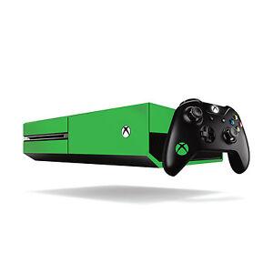 Xbox One Fluorescent Vinyl Wrap: Bright Green / Xbox One Skin Sticker Cover w...
