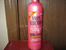 4 Salon Selectives Volume & Body Conditioner 16.1 fl oz Each