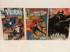 MARVEL 3D LENTICULAR AMAZING SPIDER-MAN #252 COVER + VENOM #1 - FREE SHIPPING