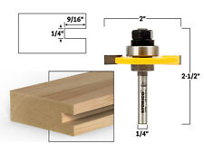 14 Slotting Cutter Router Bit Assembly 14 Shank Yonico 12107q