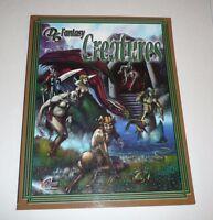 D6 Fantasy Creatures RPG Role Playing Game Gaming Book Guide Die 6 Die6 Monsters