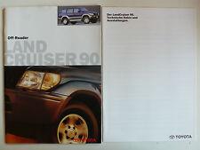 Prospekt Toyota Land Cruiser 90 / 90 Special, 3.1998, 26 Seiten + Datenblatt